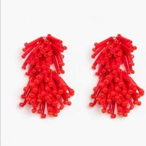 Tuckernuck fireworks earrings in red